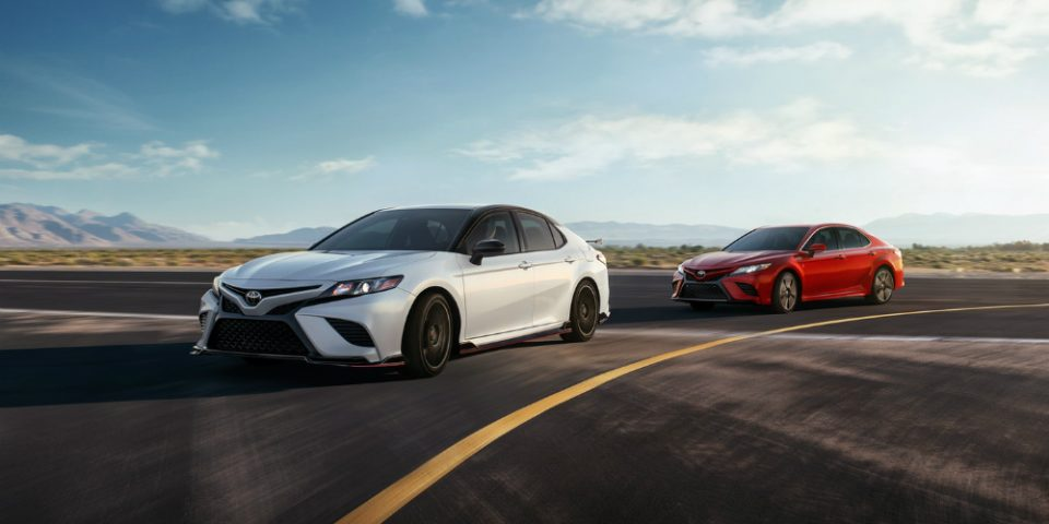 Sedan - Several Great Choices in the Toyota Camry