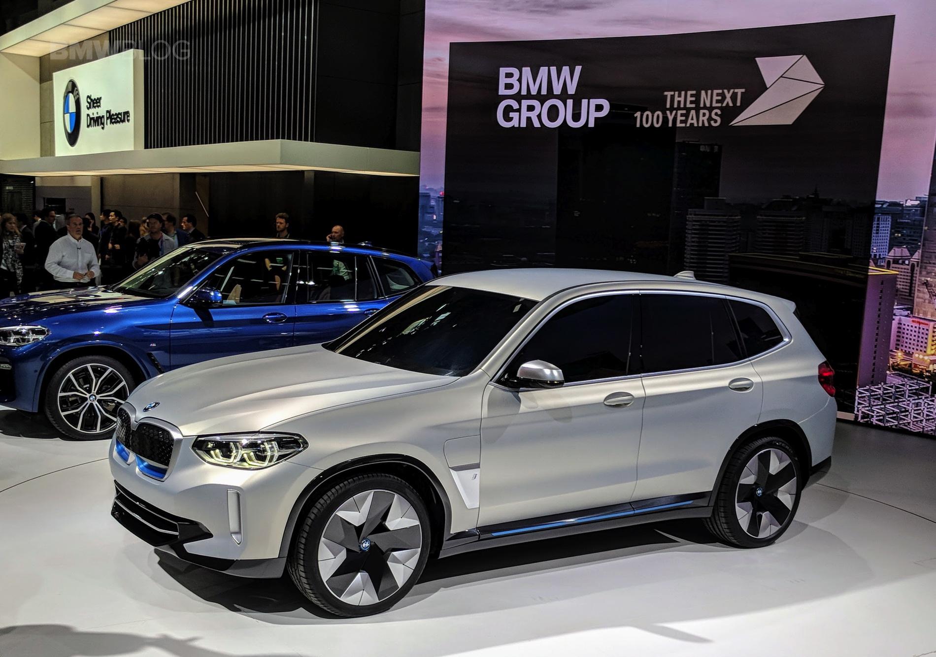 BMW Begins Production on Electric BMW iX3