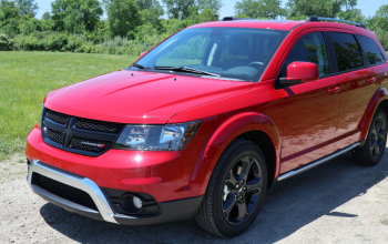 Affordable SUV Driving in the Dodge Journey