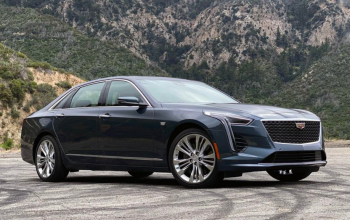 Large Luxury Driving in the Cadillac CT6