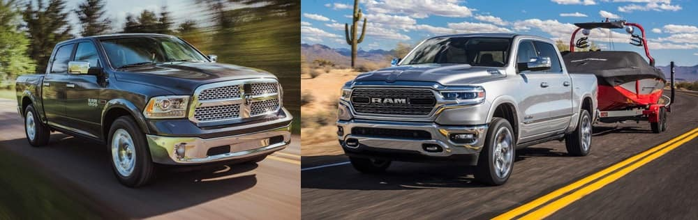 The Classic Feeling of the Right Ram 1500 Pickup Truck