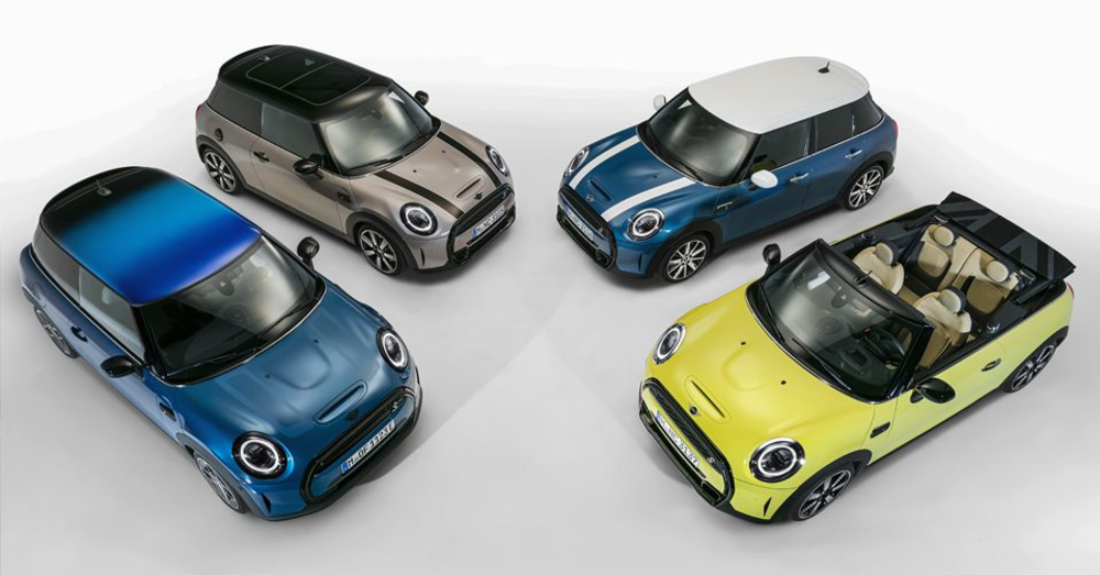 Upgraded Style Offered for the Mini Cooper Models