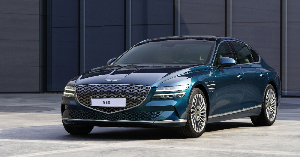 The Genesis G80 is Going Electric for 2022