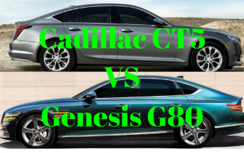 Cadillac CT5 VS Genesis G80