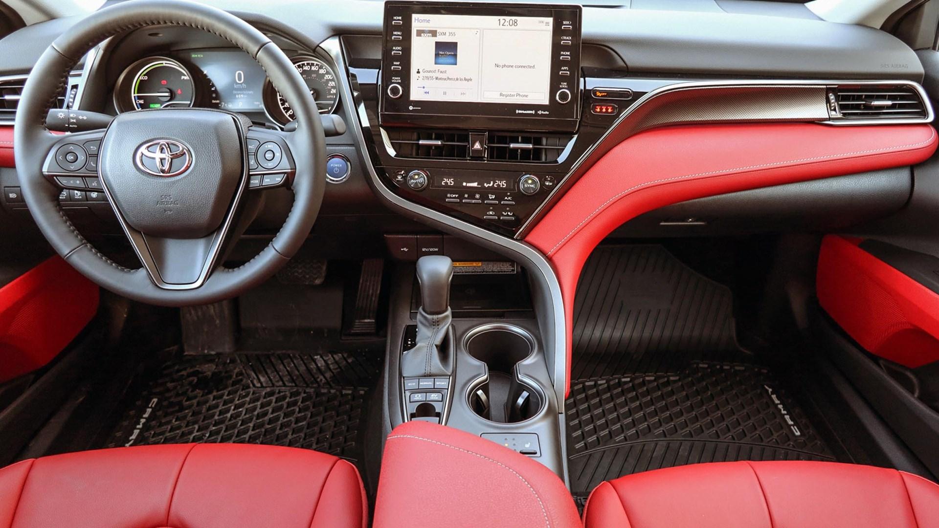 2021-toyota-camry-hybrid interior