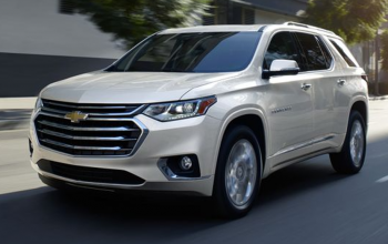 Give Your Family Everything in the Chevrolet Traverse High Country