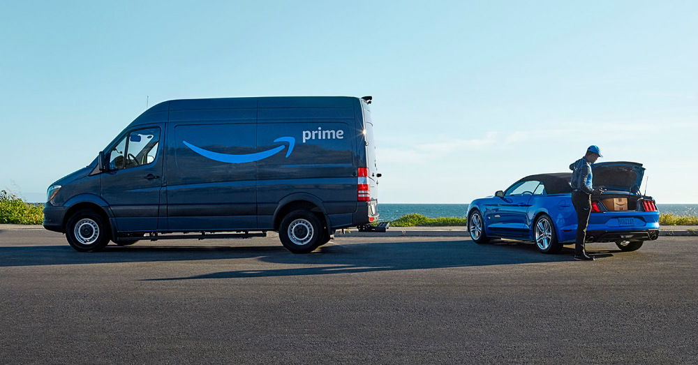 Amazon is Joining Ford to Bring Delivery to a Smart Crowd