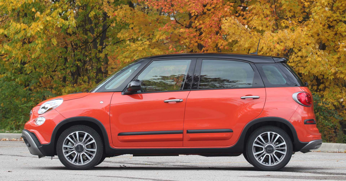 2019 Fiat 500L: Large by Fiat Standards