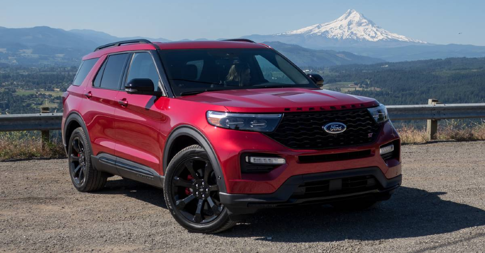 The Next Explorer ST Model from Ford is Out Testing