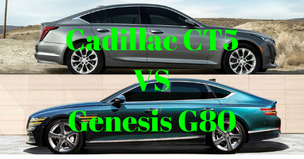 The Cadillac CT5 Vs. The Genesis G80