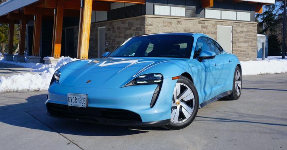Porsche Taycan 4S -Electrifying Sports Car Fun