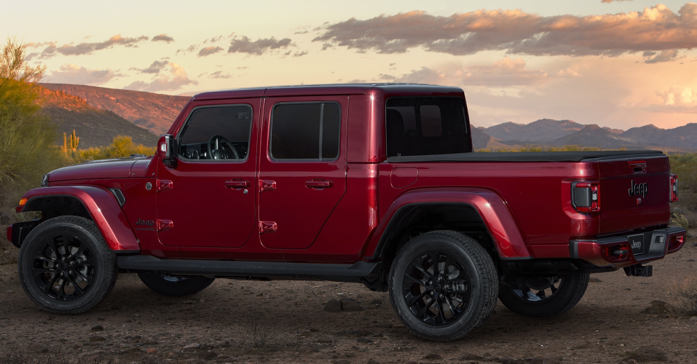 The Jeep Gladiator High Altitude is a Special Version of the Right Truck