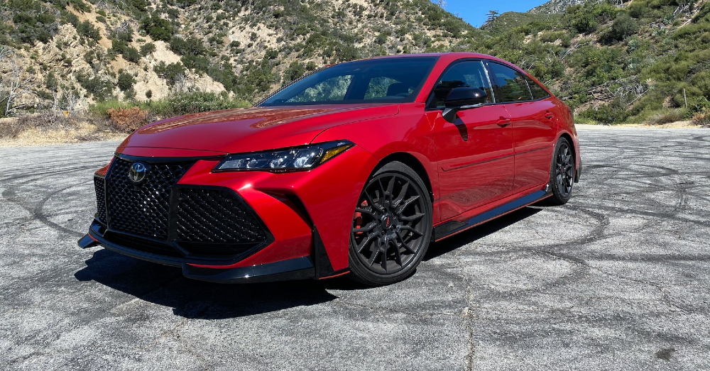 Can You Take the Toyota Avalon TRD on the Track?