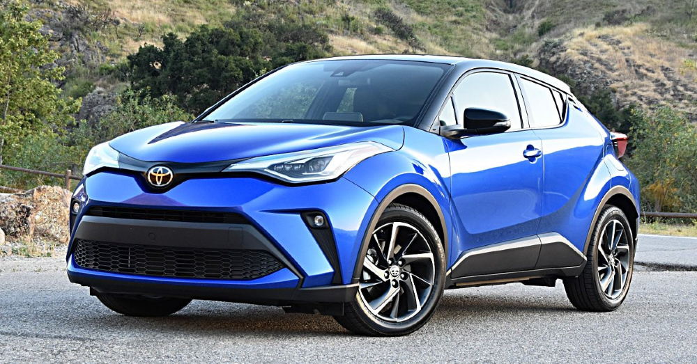The Toyota C-HR Limited is Small but Fully Packed