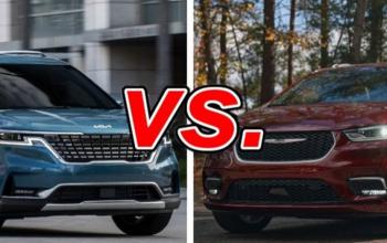 2022 Chrysler Pacifica vs. Kia Carnival